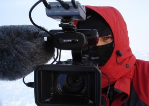 Video Journalist Tom Chown and the Sony HVR-Z1