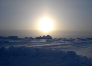 24 hour daylight at the North Pole