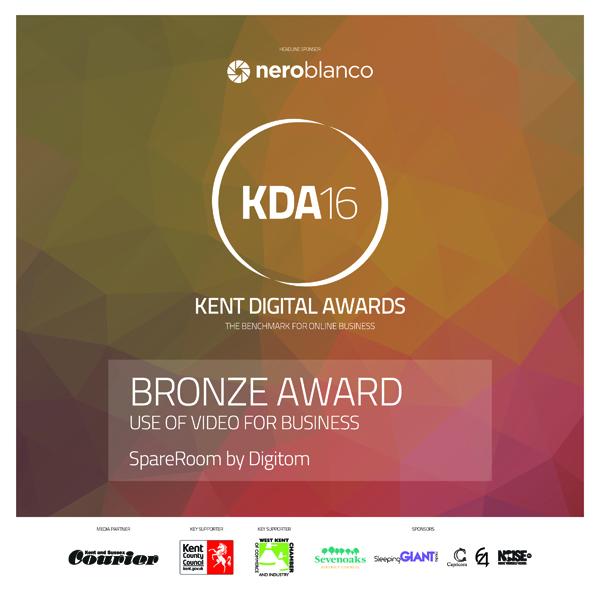 Kent Digital Awards Bronze