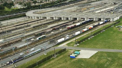 Eurotunnel | Loading platforms