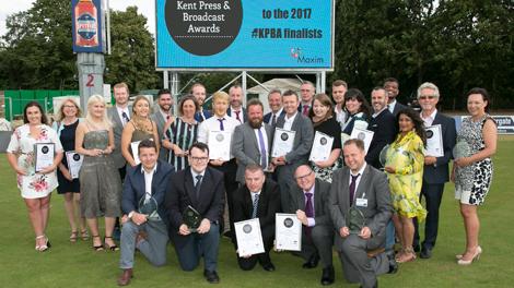 Kent Press and Broadcast Award Winners 2017
