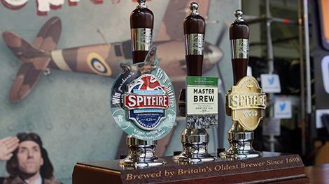 Shepherd Neame Beer Pumps