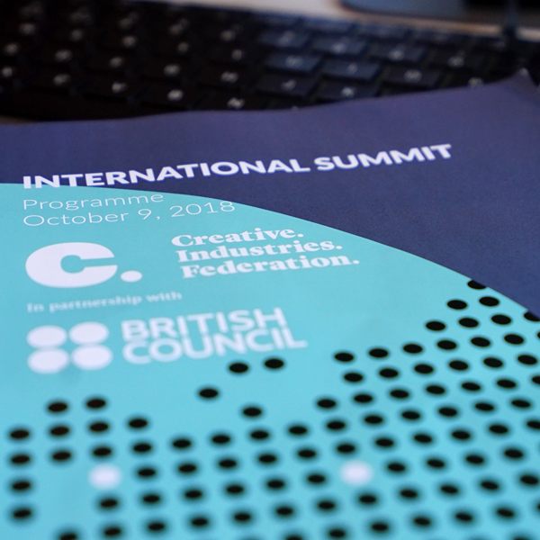 International Summit 2018 | Creative Industries Federation