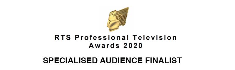 Royal Television Society Awards 2020 Finalist