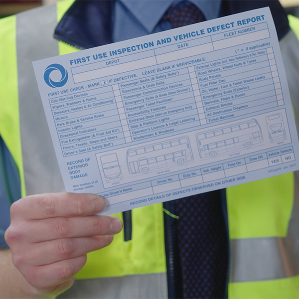 First Use Inspection | Stagecoach South East